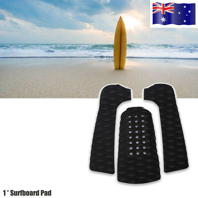 3x Surfboard Traction Tail Pads Surfing Surf Deck Grip Water Sport Accessory AU