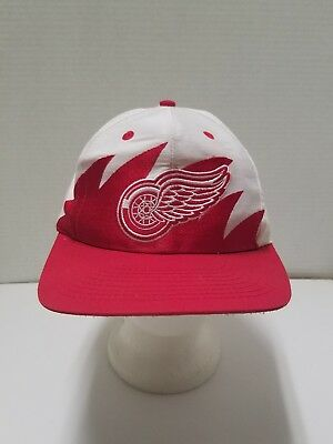5f7527787964f ... wholesale detroit red wings snapback hat vintage sharktooth logo 7 nhl  hockey mens cap f7bf1 cd5b4