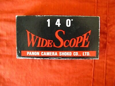 WideScope Panon slide mounts for Widelux transparencies