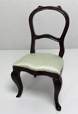 Miniature Dollhouse Chair Vintage Louis Philippe Country French Style