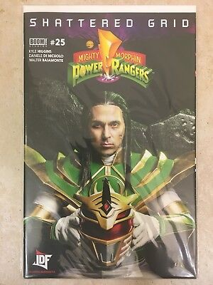 Mighty Morphin Power Rangers #25 JDF Cover Variant BOOM! Studios NM 9.6 RARE!