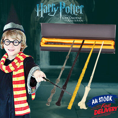 Collectable Harry Potter Wizard Hallows Hogwarts Gift Box Magic Wand Deathly