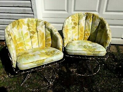 3pc Vintage HOMECREST Mid Century Modern Patio Set *PICK UP ONLY*or USHIP !!
