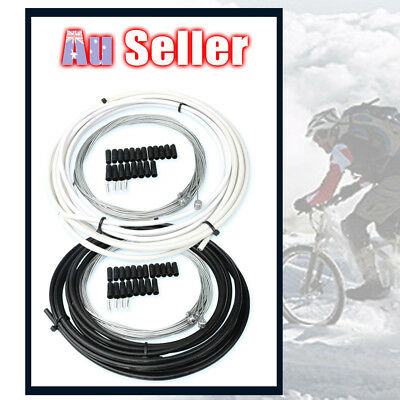 Complete bike Bicycle Brake Gear brake cables lines set Front Rear inner outer