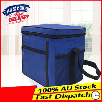Lunch Picnic Camping Thermal Cooler Food Drink Cool Insulated Large Portable Bag