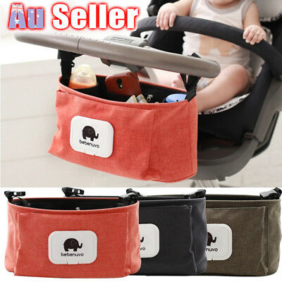 Cup Bottle Holder Organiser Mummy Bag Pram Pushchair Baby Stroller Storage Buggy
