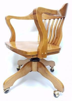 Armchair vintage rotating style marina inglese desk 70's modern antiques