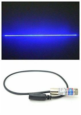 1000mw 450nm 1W High Power Pure Blue Line Laser Module 110° w/12×45mm
