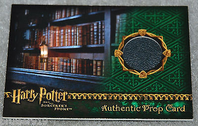 Harry Potter SORCERER'S STONE Prop Card 036/485 RESTRICTED SECTION LIBRARY BOOK