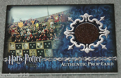 Harry Potter GOBLET of FIRE Prop Card 120/425 STADIUM BANNERS Material P7 Artbox