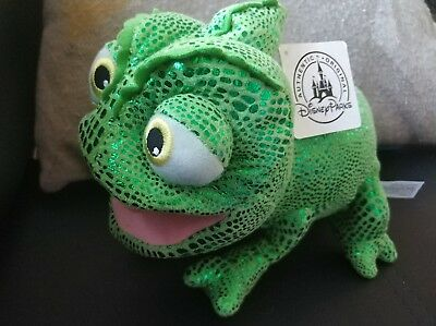 "Pascal Tangled Soft Toy 9"" Plush Disney Parks Official Item BNWT"