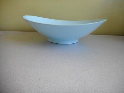 Bessemer Bowl Oval Vintage Light Blue/aqua Nylex Corporation Melmac Aust