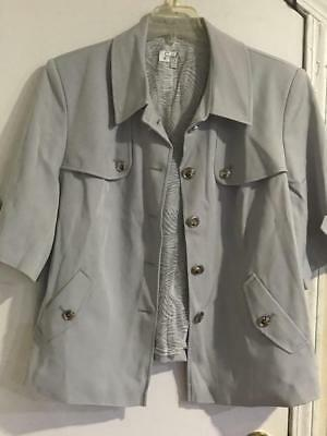 Women's Business Work meeting day night Church Spring Summer jacket only plus14W