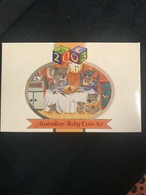 2003 Baby Proof Set -*includes Coloured $1 Dollar Coin* - Royal Australian Mint
