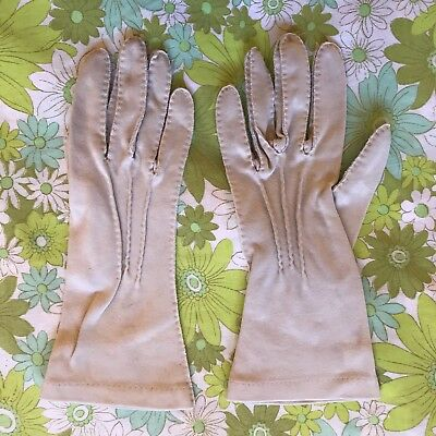 Vintage GLOVES evening 1950s 1960s ladies accessory Size pair of