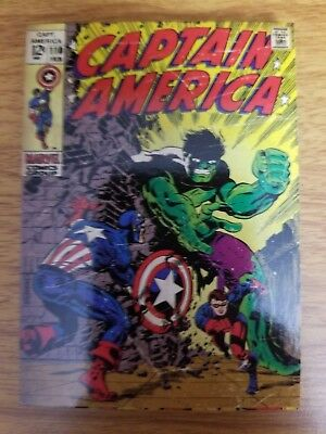 2011 Upper Deck Captain America The First Avenger #C-4 Comic Cover Card NM-Mint