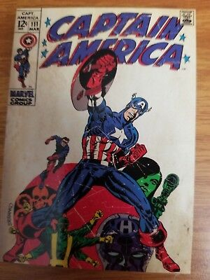2011 Upper Deck Captain America The First Avenger #C-5 Comic Cover Card NM-Mint
