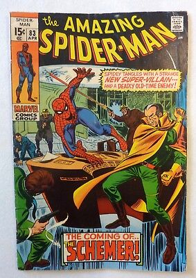 Amazing Spider-Man 83 Silver Age 1970 VG+/NF