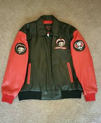 Betty Boop Leather Jacket Adult Extra Large Excelled