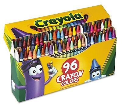 Crayola Classic Color Pack Crayons 96 Colors Box