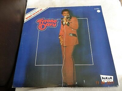 Tyrone Davis  LP Venyl    Without you in my life
