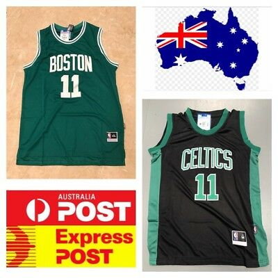 finest selection 9093c 5ba5c 2019 ALL-STAR BOSTON Celtics #11 Kyrie Irving Swingman ...
