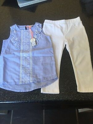 Girls River Island Outfit 18-24 Months Bnwt