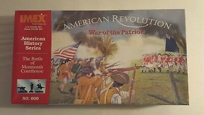 "Großes ""Battle of Monmouth Courthouse"" Set OVP + Diorama (American Revolution)"