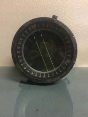 WWII A.F.U.S. ARMY TYPE D-12 AIRCRAFT COMPASS Bendix Aviation Corp.  #4