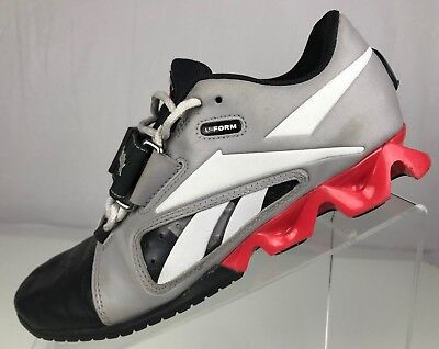 81eeab9ef40c1c Reebok Crossfit U-Form Lifter- Weightlifting Shoes Grey Black Fitness Womens  7.5