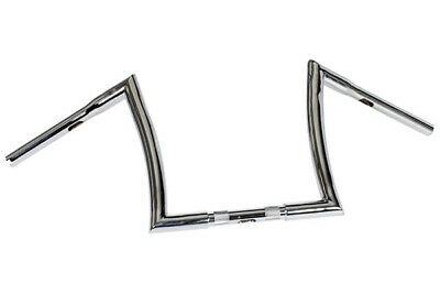 HIGHWAY HAWK Lenker Bad Ape hanger 12 Zoll 32mm, chrom,, HH55-552