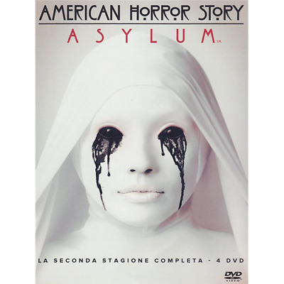 American Horror Story - Stagione 02 (4 Dvd)  [Dvd Nuovo]