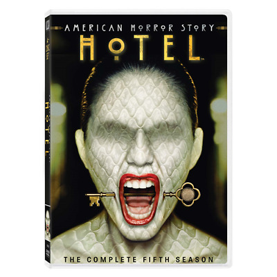 American Horror Story - Stagione 05 - Hotel (4 Dvd)  [Dvd Nuovo]