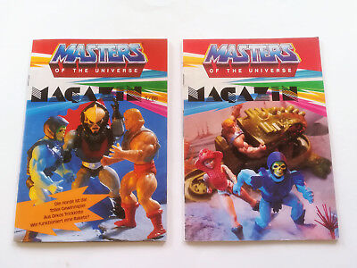 MASTERS OF THE UNIVERSE MAGAZIN 1/86 & 1985 MIT POSTER Beilage