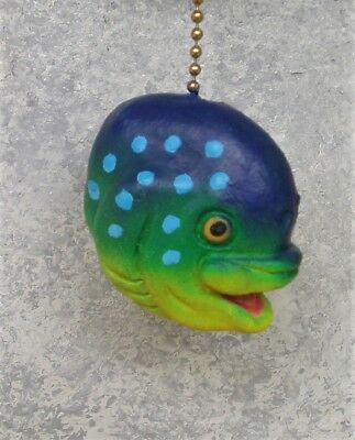 Tropical Mahi Mahi Pull Switch Sculpture handmade wildlife décor CritterSwitch