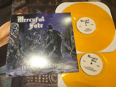 MERCYFUL FATE - Doomed by Detroit 2 x LP Yellow lim. 175 King Diamond Slayer