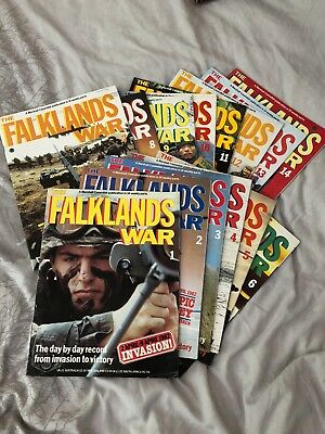 Marshall Cavendish Falklands War 14x Commemorative Magazines Complete Set