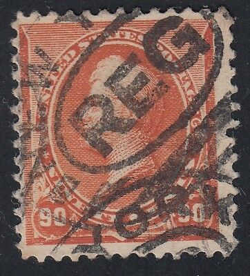 TDStamps: US Stamps Scott#229 90c Perry Used CV$150.00