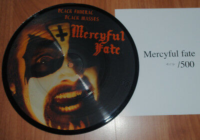 "MERCYFUL FATE - Black Funeral / Black Masses 7"" EP Picture Disc EP lim. 500"