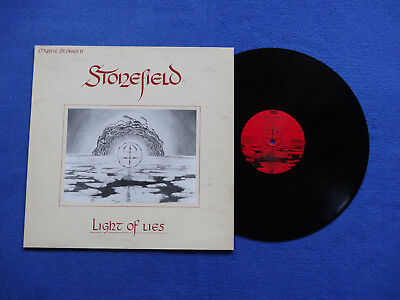Stonefield - Light Of Lies - Ois  M-M- Iron Ages Rec.- Ger - 1990
