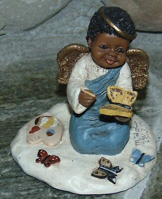 Martha Holcombe Charity #63 All Gods Children Resin Figurine African American