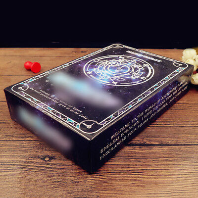 78 Pieces Tarot Card Coated Paper Magic Deck Fortune Telling Cards Table Games