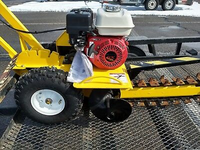 "Ground Hog 18"" Gas Trencher Honda T-4"