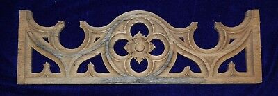 Original Gothic Hand Carved Oak Panel Dating from C1860