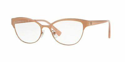 Authentic Versace Eyeglasses VE1240 1396 Copper Pink Frames 53MM Rx-ABLE