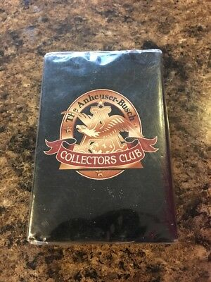 The Anheuser Busch Playing Cards Beer Playing Cards Collectors Club