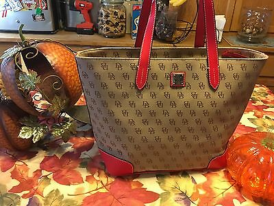 5ea1b2f49 DOONEY & BOURKE Madison Signature Large Zip Shopper Tote NWT ...