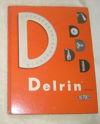 Delrin Acetal Resin Informational Book by Dupont 1957