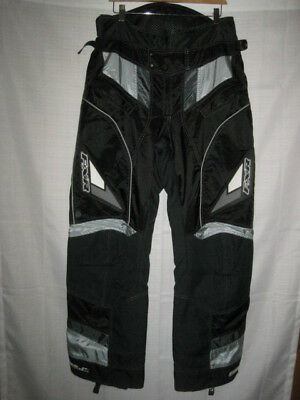 FXR Team waterproof insulated snowmobile pants men's 32 black lined