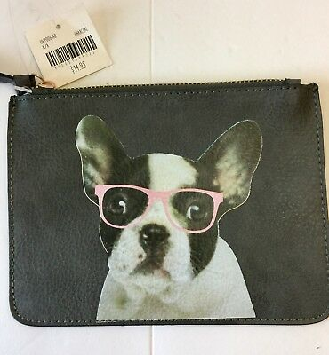 Adorable French Bulldog PU Pouch